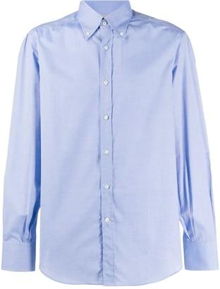 Brunello Cucinelli Cotton Formal Shirt