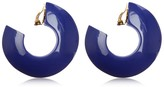 Marni ENAMELED HOOP CLIP-ON EARRINGS