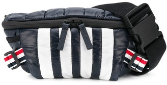 Thom Browne RWB stripe detail belt bag