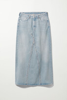 Thumbnail for your product : Weekday Chrysal Denim Maxi Skirt - Blue