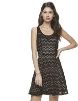 Candies Juniors' Candie's® Illusion Lace Skater Dress