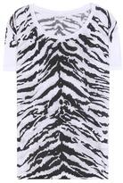 Saint Laurent Printed Jersey T-shirt