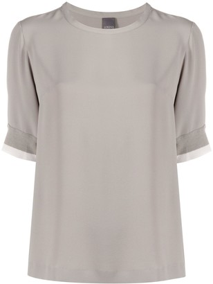 Lorena Antoniazzi short sleeved blouse