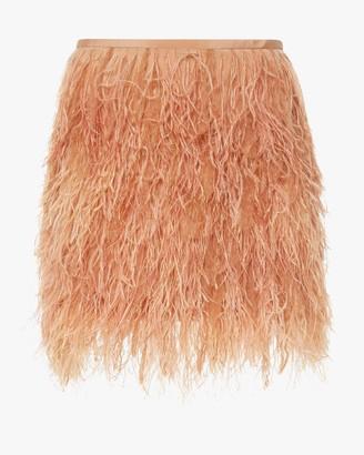 Semsem Feather Mini Skirt