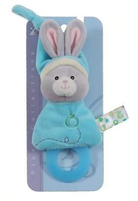 Gipsy Pomme 070168 Soft Toy/Teething Ring Rabbit 17 cm Turquoise