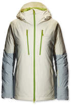 L.L. Bean Waterproof Down Ski Jacket, Colorblock