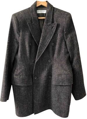 Balenciaga Brown Wool Jackets