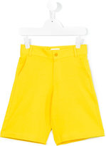 Fendi casual long shorts - kids - Cotton/Spandex/Elastane - 12 yrs