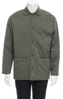 Loro Piana Quilted Snap Front Jacket