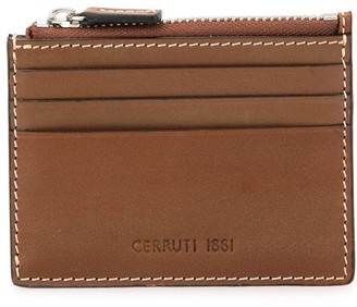 Cerruti Logo Embossed Cardholder
