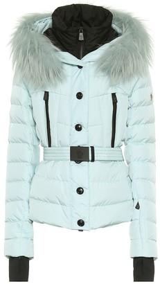 MONCLER GRENOBLE Beverley fur-trimmed down ski jacket