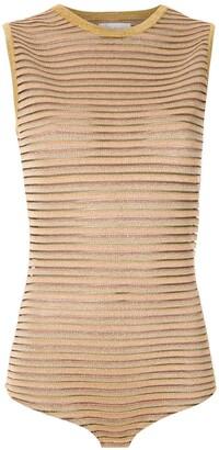 Nk Bever striped bodysuit