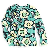Tea Collection Toddler Girl's Cozzie Rashguard