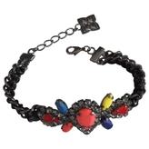 BCBGMAXAZRIA Black Metal Bracelet