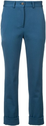 Societe Anonyme Skinny-Fit Tailored Trousers
