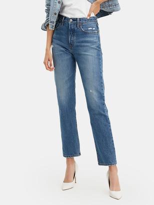 Levi's 501 Original Fit High Rise Straight Jeans
