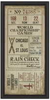 Victoria's Secret Spicher And Company 'Chicago St. Louis' Vintage Look Sign Artwork
