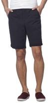 Red Herring Big And Tall Navy Geometric Print Chino Shorts