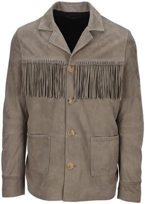 Amiri Fringe Jacket