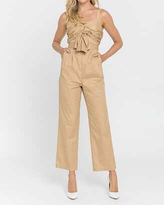Express Endless Rose Ruched Detail Jumpsuit