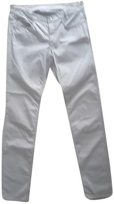 Fabiana Filippi Green Cotton Trousers for Women