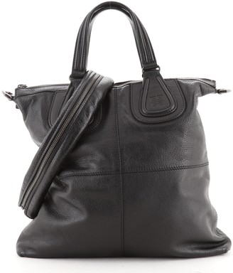Givenchy Nightingale Flat Shopper Tote Leather
