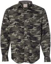 Weatherproof Vintage Camo Long Sleeve Shirt 154622 XL