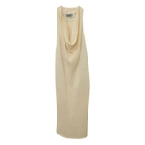 Prada dress wool land leather size S