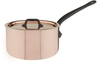 Mauviel Copper Saucepan And Lid (18Cm)