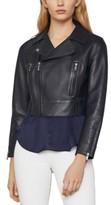 BCBGMAXAZRIA Autumn Leather Moto Jacket