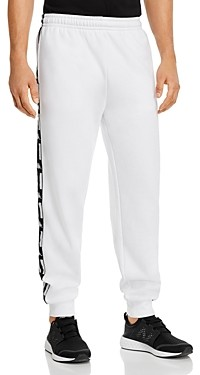 Kappa Authentic La Barno Logo-Taped Regular Fit Fleece Sweatpants