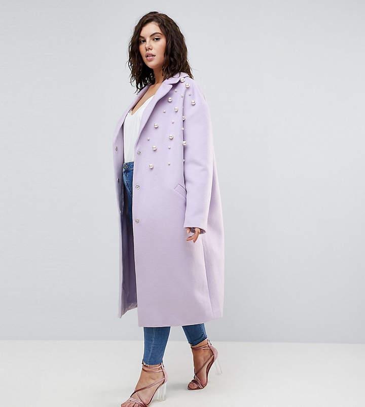 Asos Pearl Soft Coat