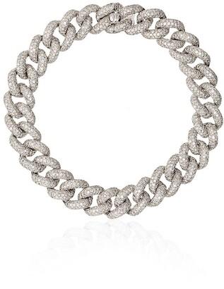 Shay 18kt gold Essential diamond link bracelet