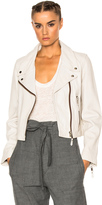 Etoile Isabel Marant Aken Washed Leather Jacket