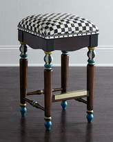 Mackenzie Childs MacKenzie-Childs Courtly Check Barstool