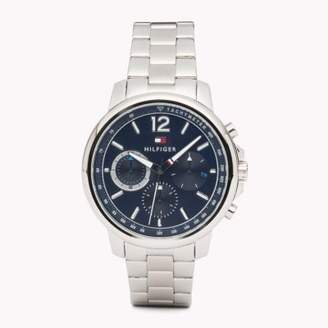 Tommy Hilfiger Three-dial Stainless Steel Watch
