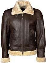 Schott Nyc Leather Jacket Dark Brown