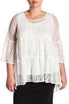Hip Lacey Blouse (Plus Size)