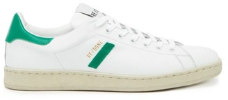 RE/DONE 70s Tennis Leather Trainers - Womens - Green White