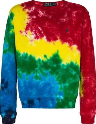 Polo Ralph Lauren Tie-Dye Long-Sleeve Sweatshirt