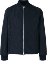 Officine Generale zip up bomber jacket - men - Polyester - S