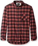 Quiksilver Men's Motherfly Flannel Shirt