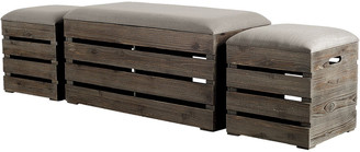 Mercana Home Weiser Set Of 3 Bench