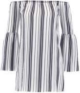 Missguided STRIPE BARDOT Day dress multi