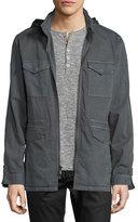 John Varvatos Zip Front Mid Length Jacket