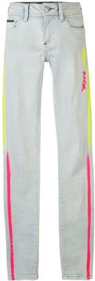 Philipp Plein Neon Rock skinny fit jeans