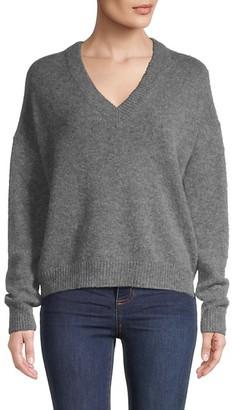 Naadam Wool Cashmere V-Neck Sweater