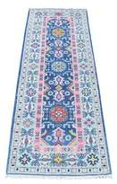 """Blue Area One-of-a-Kind Fordville Southwestern Hand-Knotted Runner 2'1"""" x 5'10 Rug Isabelline"""