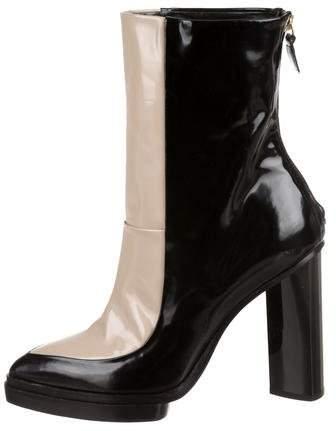 Jason Wu Patent Leather Platform Boots