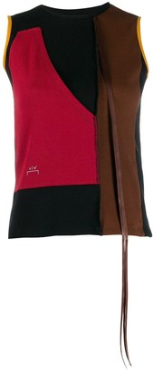 A-Cold-Wall* Sleeveless Colour-Blocked Top